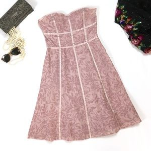 ODILLE Strapless Sweetheart Dress